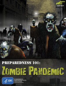 CDC Zombie Pandemic Preparedness