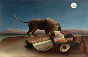 The Sleeping Gypsy, Henri Rousseau, 1897